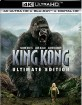 King Kong (2005) 4K - Ultimate Edition (4K UHD + 2 Blu-ray + UV Copy) (US Import ohne dt. Ton) Blu-ray
