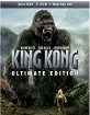 King Kong (2005) - Ultimate Edition (Blu-ray + DVD + UV Copy) (US Import ohne dt. Ton) Blu-ray
