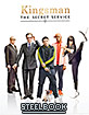 Kingsman: The Secret Service (2014) - Manta Lab Exclusive Limited Full Slip Type B Edition Steelbook (HK Import ohne dt. Ton) Blu-ray