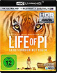 Life of Pi: Schiffbruch mit Tiger 4K (4K UHD + Blu-ray + UV Copy) Blu-ray