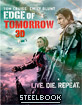Live Die Repeat - Edge of Tomorrow 3D - Limited Lenticular Edition Steelbook (Blu-ray 3D + Blu-ray) (KR Import ohne dt. Ton) Blu-ray