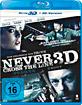 Never Cross the Line 3D (Blu-ray 3D) Blu-ray
