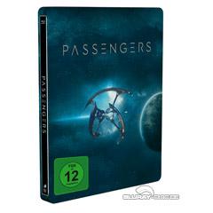 Passengers (2016) 3D (Limited Steelbook Edition) (Blu-ray 3D + Blu-ray + UV Copy) Blu-ray