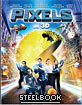 Pixels (2015) 3D - KimchiDVD Exclusive Limited Lenticular Slip Edition Steelbook (Blu-ray 3D + Blu-ray) (KR Import ohne dt. Ton) Blu-ray