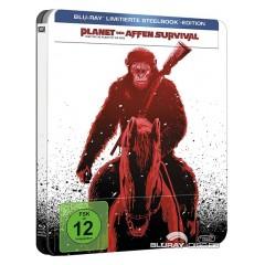 Planet der Affen: Survival (Limited Steelbook Edition) Blu-ray