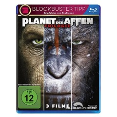 Planet der Affen Trilogie (3-Filme Set) Blu-ray