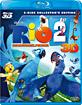 Rio 2 - Dschungelfieber 3D (Blu-ray 3D + Blu-ray + DVD) (CH Import) Blu-ray