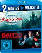 Shark Night 3D + Bait (2012) 3D (Doppelset) (Blu-ray 3D) Blu-ray