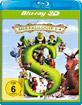Shrek 1-4: Die komplette Shrekologie 3D (Blu-ray 3D) (Neuauflage) Blu-ray