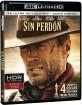 Sin Perdón (1992) 4K (4K UHD + Blu-ray + UV Copy) (ES Import) Blu-ray