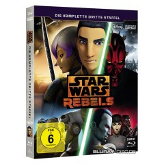 Star Wars Rebels: Die komplette dritte Staffel Blu-ray
