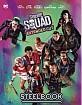 Suicide Squad (2016) 3D - HDzeta Exclusive Limited Lenticular Full Slip Deadshot Edition Steelbook (CN Import ohne dt. Ton) Blu-ray