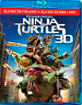 Teenage Mutant Ninja Turtles (2014) 3D (Blu-ray 3D + Blu-ray + Bonus Blu-ray + DVD) (ES Import) Blu-ray