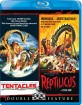 Tentacles (1977) / Reptilicus (1961) - Double Feature (Region A - US Import ohne dt. Ton) Blu-ray