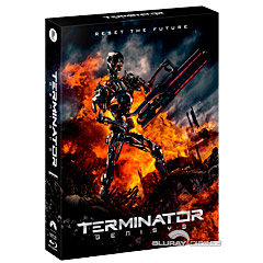 Terminator: Genisys 3D - Plain Archive Selective Exclusive Limited Full Slip Edition Steelbook (KR Import ohne dt. Ton) Blu-ray