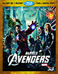 The Avengers 3D (Blu-ray 3D + Blu-ray + DVD + Digital Copy) (US Import ohne dt. Ton) Blu-ray