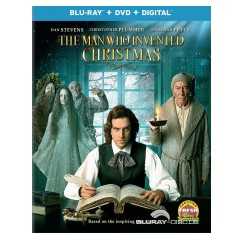 The Man Who Invented Christmas (2017) (Blu-ray + DVD + UV Copy) (US Import ohne dt. Ton) Blu-ray