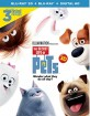 The Secret Life of Pets (2016) 3D (Blu-ray 3D + Blu-ray + DVD + UV Copy) (US Import ohne dt. Ton) Blu-ray