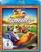 Turbo - Kleine Schnecke, großer Traum 3D (Blu-ray 3D + Blu-ray + DVD) (CH Import) Blu-ray
