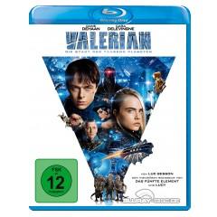 Valerian - Die Stadt der tausend Planeten Blu-ray