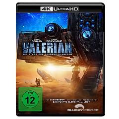 Valerian - Die Stadt der tausend Planeten 4K (4K UHD + Blu-ray) Blu-ray