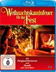Weihnachtskaminfeuer für das Fest Blu-ray