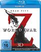 World War Z 3D (Blu-ray 3D) Blu-ray