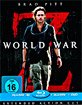 World War Z 3D - Limited Digipak Edition (Blu-ray 3D + Blu-ray + DVD) Blu-ray