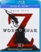 World War Z 3D (Blu-ray 3D + Blu-ray) (IT Import) Blu-ray