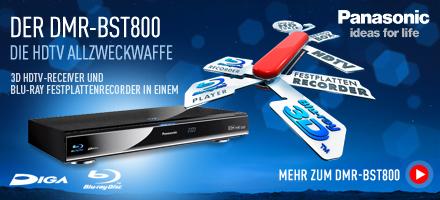 Die neue HDTV Allzweckwaffe in 3D - 3D HDTV Receiver und Blu-ray Festplattenrecorder