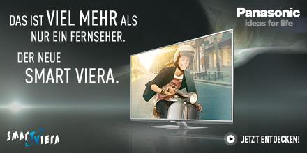 Das ist viel mehr als nur ein Fernseher. Der neue Smart VIERA.