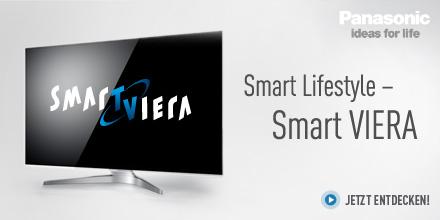 Smart Lifestyle - Smart VIERA - jetzt entdecken