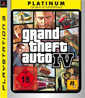 Grand Theft Auto IV - Platinum PS3-Spiel