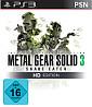 Metal Gear Solid 3: Snake Eater - HD Edition (PSN) PS3-Spiel