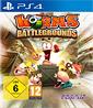 Worms Battlegrounds PS4-Spiel