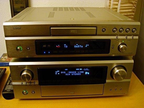 Mein Denon DVD-3930 und AVR-4306