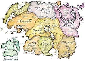 Mittelerde Karte 4k.Tamriel Elder Scrolls Karte Selbstgemacht Blog Von Darthmop1