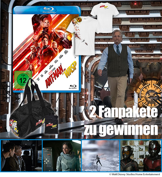 Verlosung: 2 Fanpakete zu ANT-MAN AND THE WASP