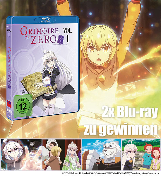 Verlosung: 2 Blu-rays Grimoire of Zero - Vol. 1