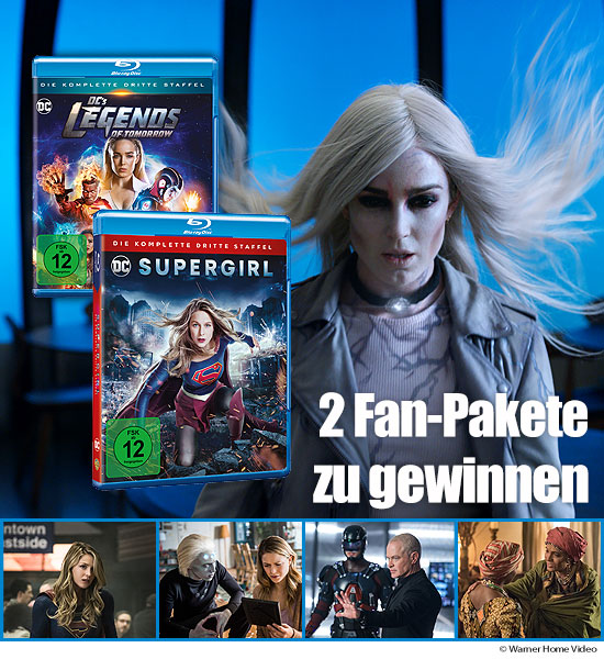 Verlosung: 2 Serienpakete mit Supergirl Staffel 3 und DC's Legends of Tomorrow Staffel 3