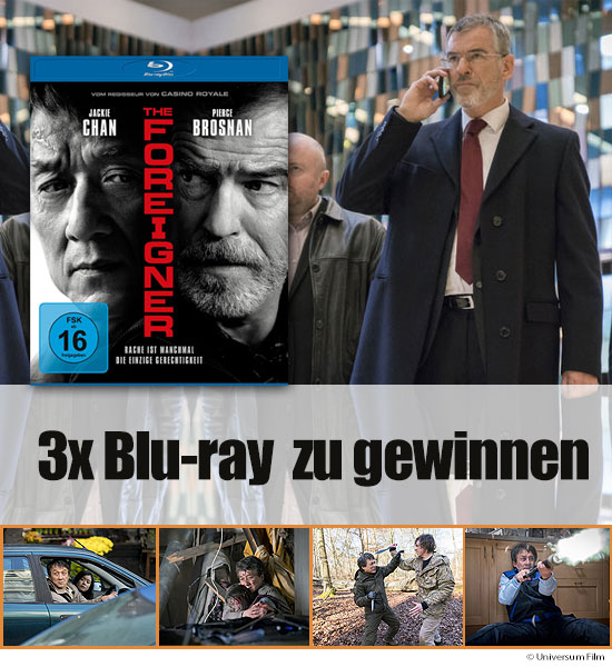 Verlosung: 3 Blu-rays The Foreigner