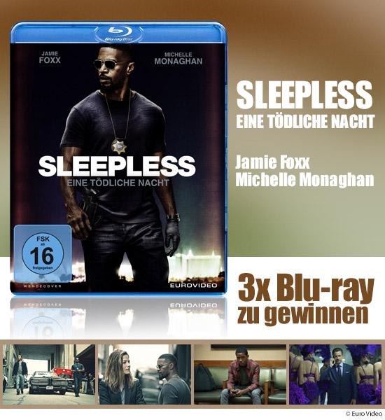 Verlosung 3x Blu Ray Sleepless Eine Tödliche Nacht