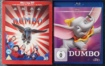 Dumbo (1941) + Dumbo 3D + 2D Bluray (2019) UK-Fassung