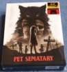 PET SEMATARY (2019) FullSlip XL + Lenticular 3D Magnet Steelbook™ Limited Collector's Edition - numbered