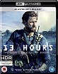 13 Hours: The Secret Soldiers of Benghazi 4K (4K UHD + Blu-ray + Bonus Blu-ray) (UK Import deutsche Tonspur)