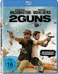 2 Guns (inkl. Kette mit Pistolenanhänger) (Blu-ray + UV Copy) Blu-ray
