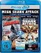 2-Headed Shark Attack 3D + Sharknado - Genug gesagt! 3D (Mega Shark Attack Double Feature) (Blu-ray 3D) Blu-ray