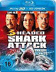 3-Headed Shark Attack 3D (Blu-ray 3D) Blu-ray