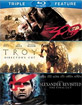 300 + Troy + Alexander (Triple Feature) (US Import ohne dt. Ton) Blu-ray