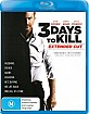 3 Days to Kill - Extended Cut (AU Import ohne dt. Ton) Blu-ray